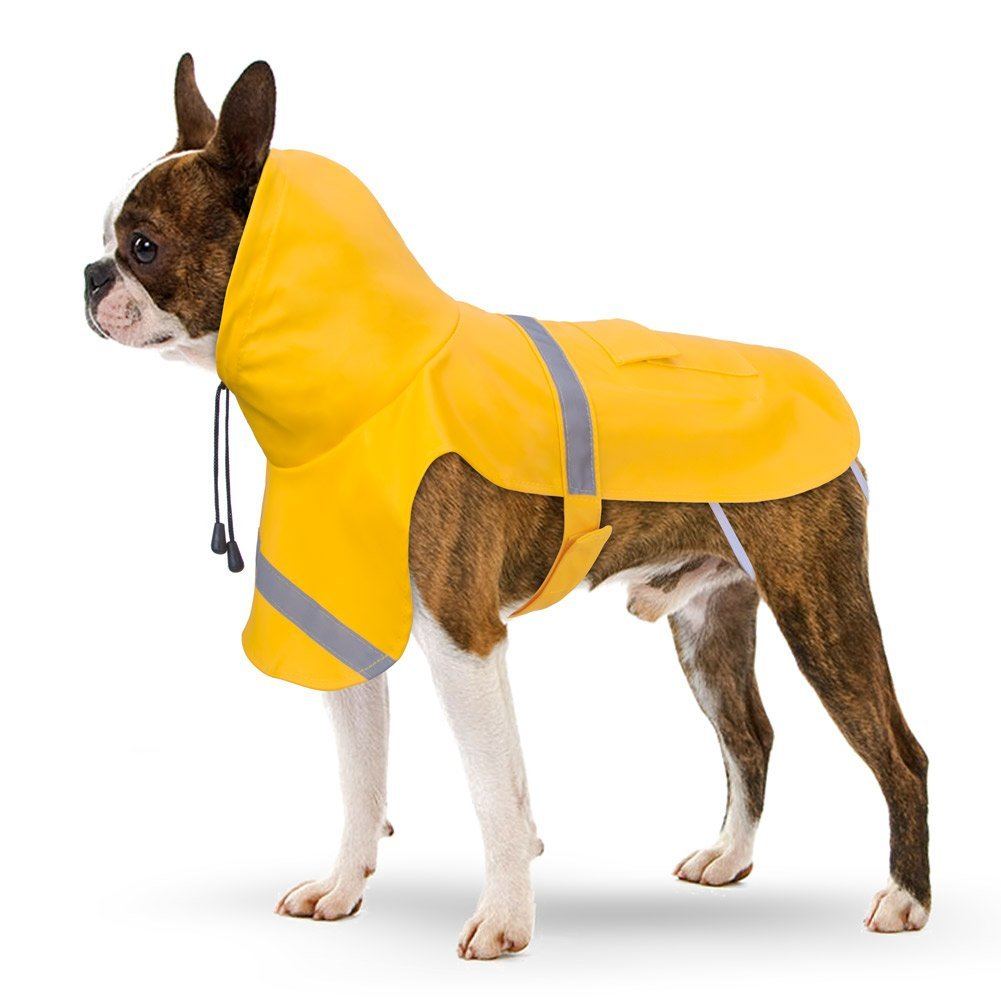 petbaba-reflective-rain-jacket-with-hood-for-dogs