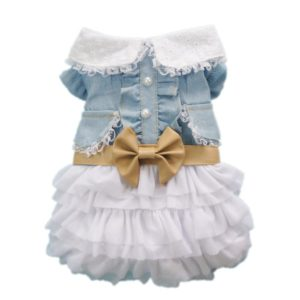 Petparty® Fairy Denim Dog Dress for Dogs
