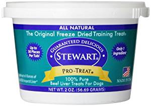 Pro-Treat Freeze Dried Beef Liver Dog Training Treats